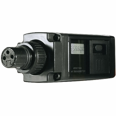 AUDIO-TECHNICA ATW-T1802D 1800 Series plug-on transmitter, 655.500 - 680.375 MHz (TV 44-49)