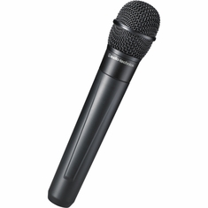 AUDIO-TECHNICA ATW-T220AD 2000 Series handheld microphone/transmitter with cardioid dynamic element, 656.125-678.500 MHz (TV 45-48)