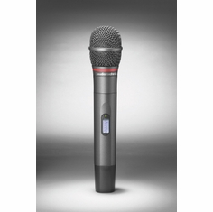 AUDIO-TECHNICA ATW-T341BD 3000 Series handheld microphone/transmitter with cardioid dynamic element, 655.500-680.375 MHz (TV 44-49)