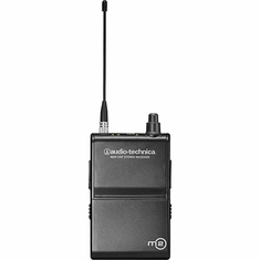 AUDIO-TECHNICA M2RM M2 system body-pack stereo receiver, 614.000-647.000 MHz (TV 38-43)