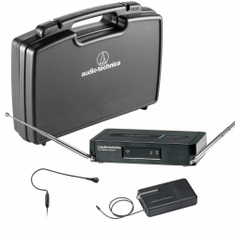 AUDIO-TECHNICA PRO-301/H92-T3 Pro Series 3 Wireless System includes: PRO-R300 receiver and PRO-T301 UniPak transmitter with PRO 92cW headworn microphone, 170.245 MHz,,