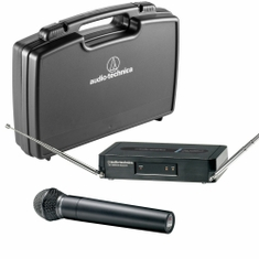 AUDIO-TECHNICA PRO-302-T3 Pro Series 3 Wireless System includes: PRO-R300 receiver and PRO-T302 handheld dynamic unidirectional microphone/transmitter, 170.245 MHz,,