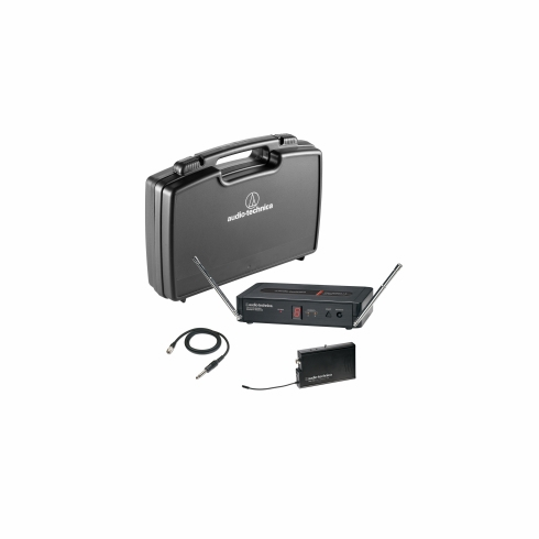 AUDIO-TECHNICA PRO-501/G Pro Series 5 Wireless System includes: PRO-R500 receiver and PRO-T501 UniPak transmitter with AT-GcW guitar cable (TV 26-29),,