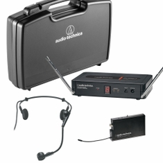 AUDIO-TECHNICA PRO-501/H Pro Series 5 Wireless System includes: PRO-R500 receiver and PRO-T501 UniPak transmitter with PRO 8HEcW headworn mic (TV 26-29),,