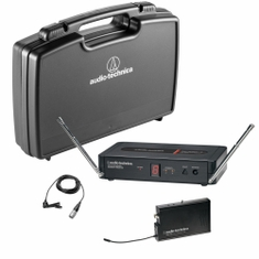 AUDIO-TECHNICA PRO-501/L Pro Series 5 Wireless System includes: PRO-R500 receiver and PRO-T501 UniPak transmitter with lavalier microphone (TV 26-29),,