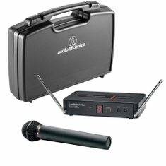 AUDIO-TECHNICA PRO-502 Pro Series 5 Wireless System includes: PRO-R500 receiver and PRO-T502 handheld dynamic unidirectional microphone/transmitter (TV 26-29),,