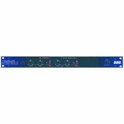 BBE 362NR SONIC MAXIMIZER Signal Processor with an Independent, Single-ended Noise Reduction System