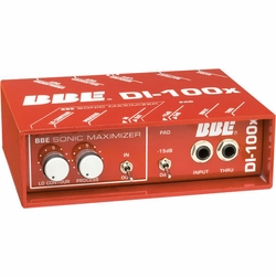 BBE DI-100X ACTIVE DIRECT INJECT BOX High-quality Professional-grade Active DI Box