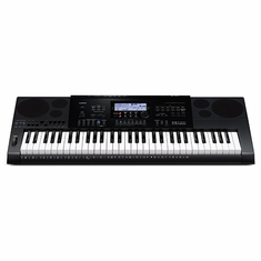 CASIO CTK7200 61 Piano-style keys, Stereo Audio Recording, 9 sliders with organ drawbar mode, 64 note polyphony, 820 Tones, 260 Rhythms, 5 EQ Settings, Digital effects