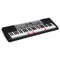 CASIO LK175 61 Piano-style lighted keys, 48 note polyphony, 400 Tones, 150 Rhythms, 110 Songs, LCD display, Sound EFX Sampler