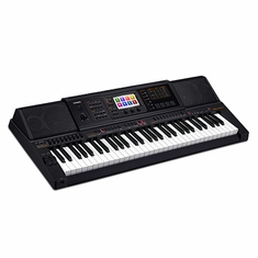 CASIO MZ-X300 61 Key, Touch Response, Color Touch LCD, 48 Channel Mixer, 8 Set x 12 Bank Registration, Audio Recording