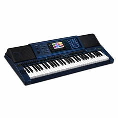 CASIO MZ-X500 61 Key, Touch Response, Color Touch LCD, 48 Channel Mixer, 8 Set x 12 Bank Registration, Audio Recording