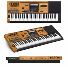CASIO XW-P1CO - PERFORMANCE SYNTHESIZER LIMITED EDITION CHROME ORANGE COLOR