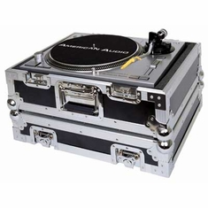 DJ GEAR 1200 TURNTABLE DELUXE CASE Fits Technics 1200's and all other brand turntables