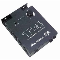 ELATION - AMERICAN DJ T4 4-Channel Chase Controller