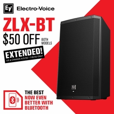 Electro-Voice ZLX BT $50 OFF