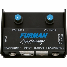 FURMAN HR-2 - HEADPHONE REMOTE BOX W/CLIP