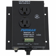 FURMAN MP-20 - MINIPORT POWER RELAY, 20A