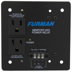 FURMAN MP-20Q - MINIPORT, 20A, QUAD BOX MOUNT