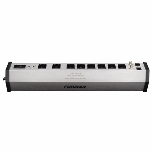 FURMAN PST-8 Power Station, Series Multi-Stage Protection Plus(SMP+)