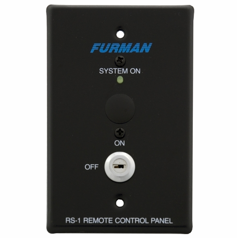 FURMAN RS-1 - SYSTEM CONTROL PANEL, KEY SW