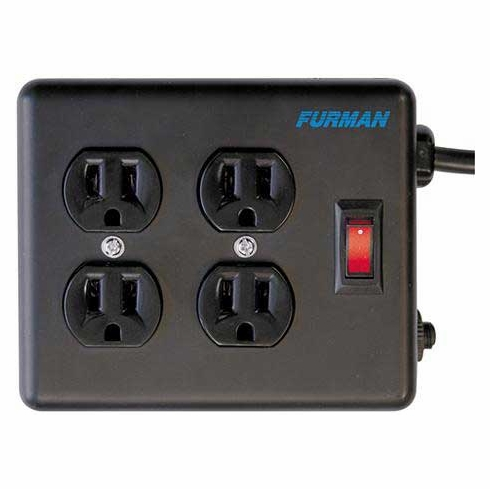 FURMAN SS-4 Four Outlet Stage Quad Box