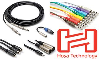 Hosa MIT-156 Impedance Transformer XLR3F to 3.5mm TRS Mic Adapter 1.5ft 18in