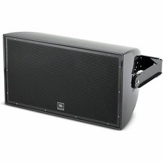"JBL AW566-LS-BK 15"" 2-Way All Weather Loudspeaker with EN54-24 Certification, black."