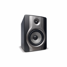 M-AUDIO BX5 Carbon Compact studio monitors for music production and mixing.