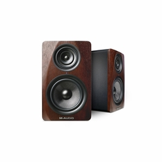 M-AUDIO M3-8 Monitors (each) Wood finish Three-Way Active Studio Monitor