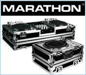 Marathon DJ Flight Road Cases For DJ Turntable Coffins