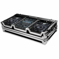 MARATHON � FLIGHT ROAD CASE � CASE TO HOLD 2 X LARGE FORMAT CD PLAYERS: PIONEER CDJ-2000 + RAVE SIXTY-TWO SERATO MIXER W/ LOW PROFILE WHEELS