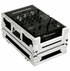 "MARATHON FLIGHT ROAD CASE MA-10MIXE 10"" DJ Mixer Case with Front Sliding Doors"