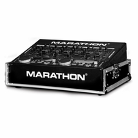 """MARATHON � FLIGHT ROAD CASE � MA-M800E 19"""" MIXER CASE WITH 8U TOP SPACE RACK MOUNT - OPEN FRONT FOR EASY ACCESS TO FRONT CONTROLS -  CAN ALSO BE USED FOR 19"""" RACK MOUNT LIGHT CONTROLLERS"""