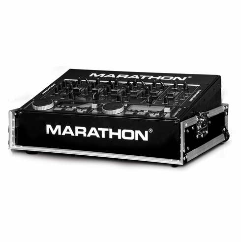 """MARATHON ® FLIGHT ROAD CASE ™ MA-M800E 19"""" MIXER CASE WITH 8U TOP SPACE RACK MOUNT - OPEN FRONT FOR EASY ACCESS TO FRONT CONTROLS -  CAN ALSO BE USED FOR 19"""" RACK MOUNT LIGHT CONTROLLERS"""