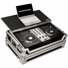 MARATHON FLIGHT ROAD CASE MA-MIXDECKEXPLT Case for 1 x Numark Mixdeck Express All in One System and Laptop Shelf