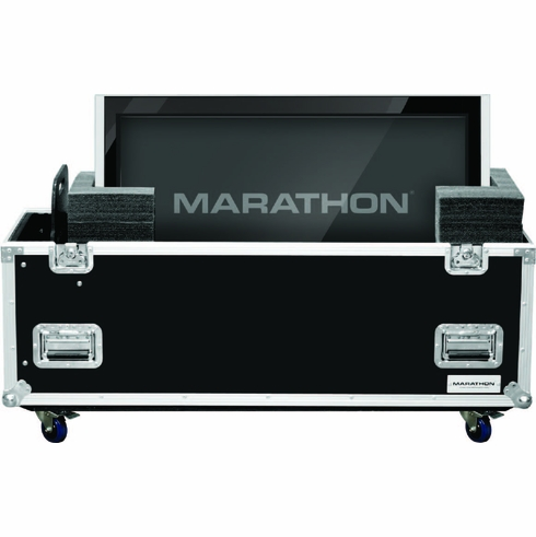 MARATHON ® FLIGHT ROAD CASE ™ MA-PLASMA32W UNIVERSAL CASE WITH CASTERS FOR PLASMA 32 INCH MONITORS