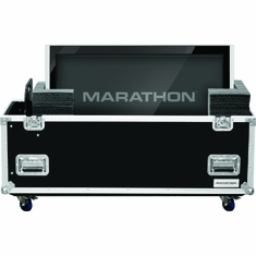 MARATHON � FLIGHT ROAD CASE � MA-PLASMA70W UNIVERSAL CASE WITH CASTERS FOR PLASMA MONITORS UP TO 70 INCH