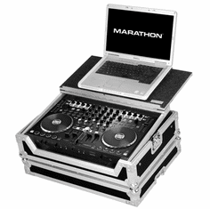 MARATHON � FLIGHT ROAD CASE � MA-RTMX4LT CASE TO HOLD 1 X RELOOP TERMINAL MIX 4 SERATO MIDI CONTROLLER + LAPTOP SHELF