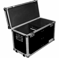 MARATHON � FLIGHT ROAD CASE � MA-SLDC200WV2 UTILITY TRUNK CASE - INTERIOR 31X20X14 RECESSED HARDWARE, FOAM LINED INTERIOR, W/ CASTER PLATE & STACKABLE CASTER DISH