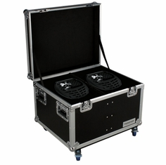 MARATHON � FLIGHT ROAD CASE � MA-SNIPER2R2PACKW CASE TO HOLD 2 X ELATION SNIPER 2R LIGHT EFFECT - STACKABLE WITH CASTER DISH PLATE
