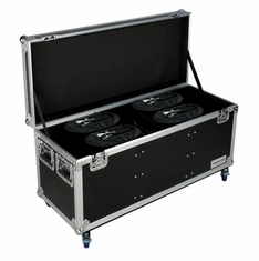 MARATHON � FLIGHT ROAD CASE � MA-SNIPER2R4PACKW CASE TO HOLD 4 X ELATION SNIPER 2R LIGHT EFFECT - STACKABLE WITH CASTER DISH PLATE