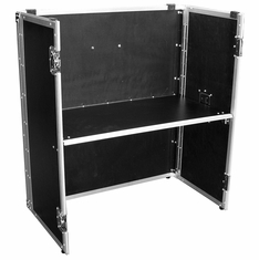 MARATHON � FLIGHT ROAD CASE � MA-STAND32 UNIVERSAL DJ STAND FOLD OUT FOR ALL COFFINS 36W X 32H X 18.8D -GREAT FOR LARGE FORMAT DJ COFFINS CD OR TURNTABLE