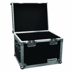 "MARATHON � FLIGHT ROAD CASE � MA-TUT221212 UTILITY TRUNK  CASE WITH EXTERIOR DIMENSION OF 22""W X 12""D X 12""H"