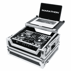 MARATHON FLIGHT ROAD CASE MA-VMS2LT Case for 1 x American Audio Vms2 Music Controller and Laptop Shelf