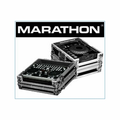 Marathon Flight Road Cases For CD- CDJ Digital Turntable Players Fits: Pionner, Denon, American Audio, Stanton, Technics