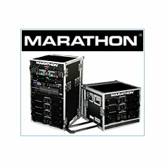 Marathon Flight Road Cases For Deluxe Amplifier Rack Systems