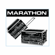 Marathon Flight Road Cases For Deluxe Effects Rack Systems