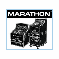 Marathon Flight Road Cases For DJ Work Stations & Combo Systems