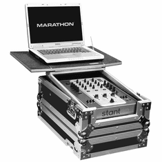 "MARATHON FLIGHT ROAD CASES MA-10MIXLT 10"" Mixer Case with Laptop Shelf"